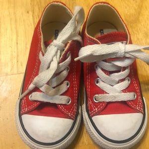 Kids' Red Converse